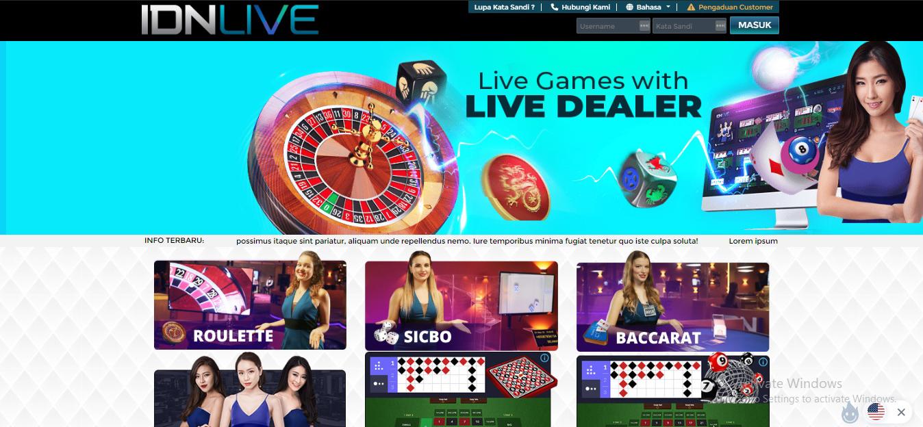 Situs IDN Live