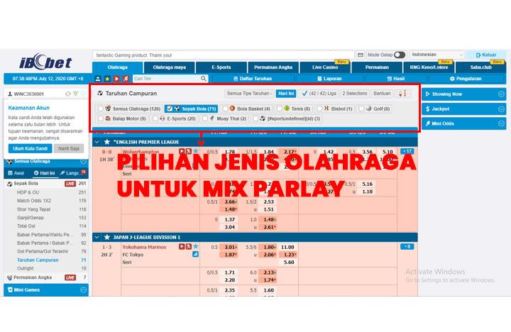 Cara Berhitung Mix Parlay - Online303
