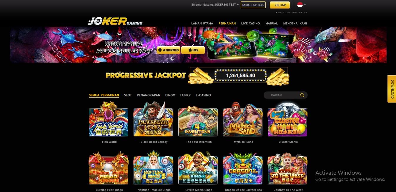 Slot Joker Gaming Online - Onilne303