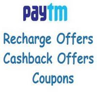 Paytm gives ₹20 cashback on mobile Prepaid, Postpaid & DTH recharge. Minimum amount of recharge is ₹30. Offer is valid for select users.