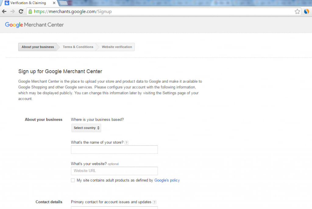 Google Shopping Ads 101-merchant center signupSS