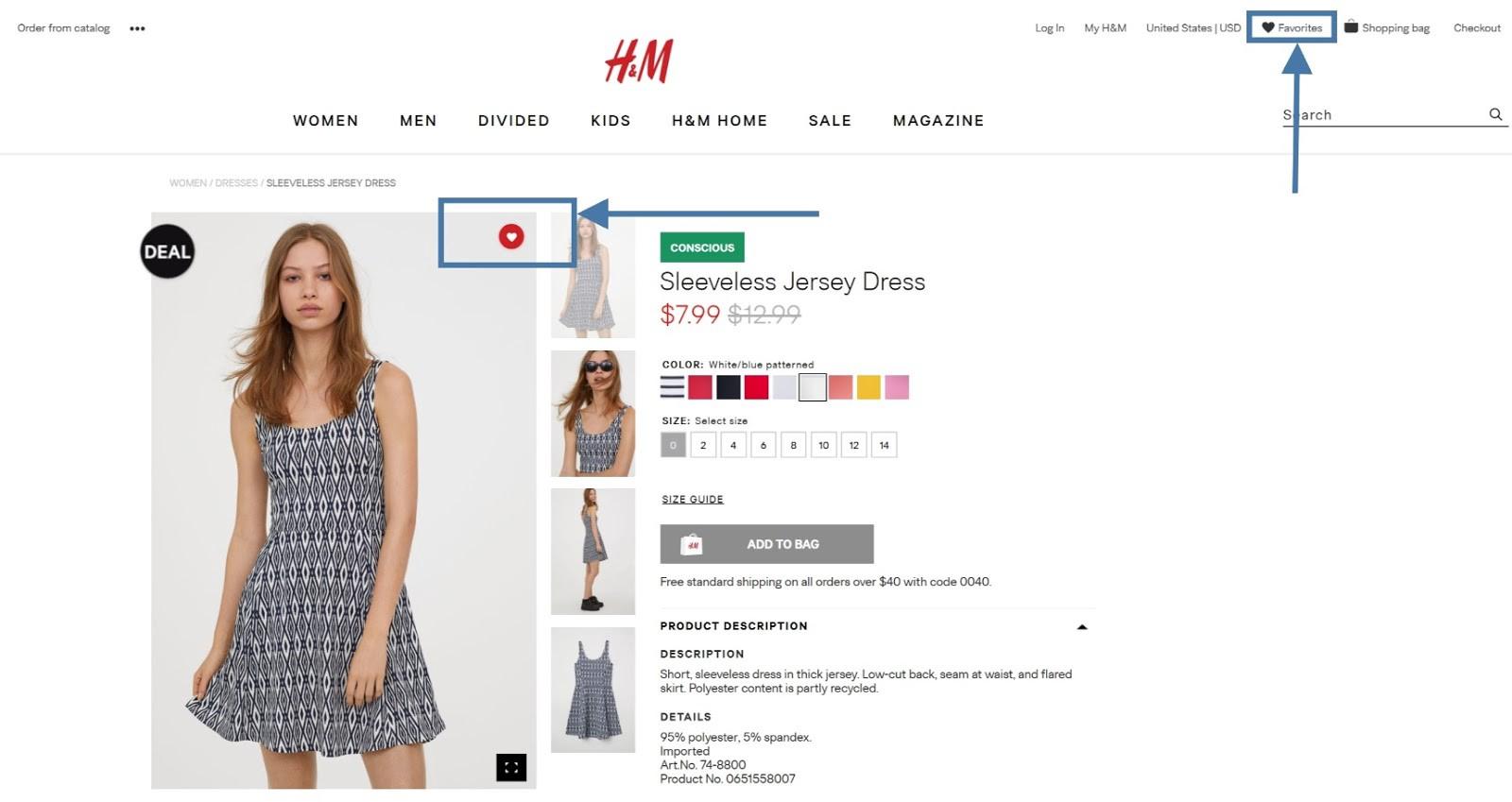 H&M - Ecommerce CRO Hacks