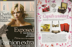 Tatler Magazine - Cupid's wishlist