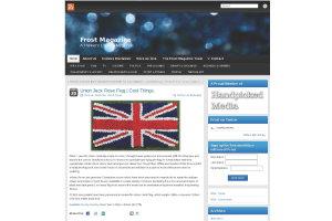 Frost Magazine Online - InfiniteRoses Union Jack