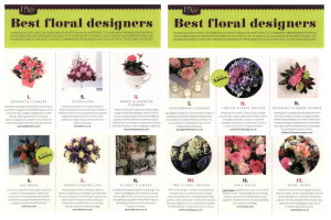 PA Magazine - Best Floral Designers