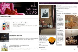 Interior News - Featuring Infinite Roses