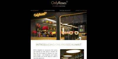 Introducing OnlyRoses Kuwait