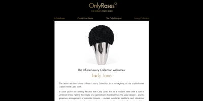 The Infinite Luxury Collection Welcomes: Lady Jane