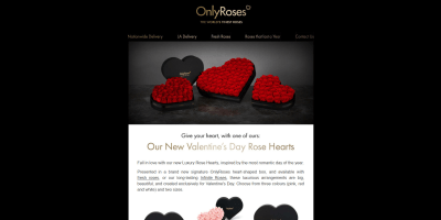 Give Your Heart, With One of Ours: Our New Valentine's Day Rose Hearts