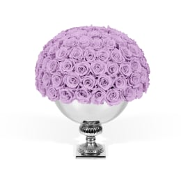 Lilac Luxury: Infinite Rose Punch Bowl