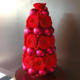 Infinite Rose Festive Tree