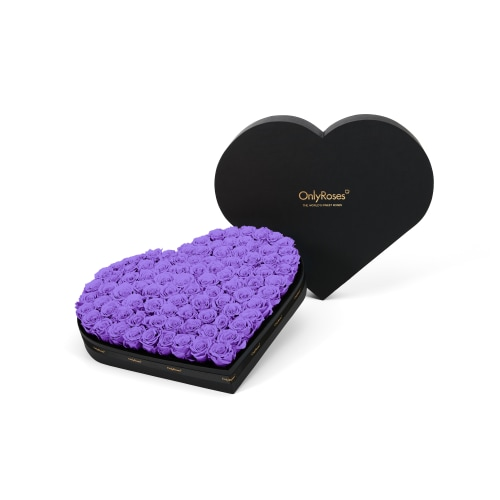 Luxury Infinite Rose Heart - Lilac Luxuries - OnlyRoses