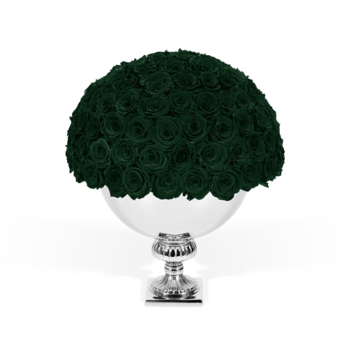 Infinite Rose Punch Bowl - Green with Envy - OnlyRoses
