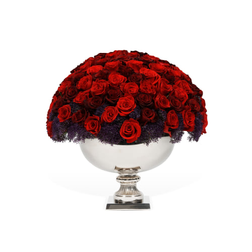 Classic Rose Punch Bowl - Los Angeles Delivery - OnlyRoses