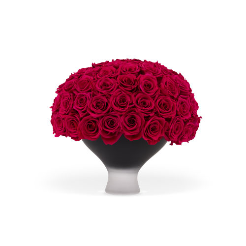 The Infinite Rose Metropolis Bowl - Roses Delivered Doha - OnlyRoses