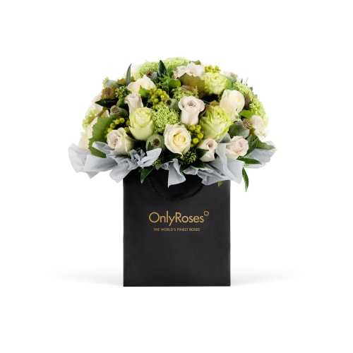 The Only Bouquet - Green with Envy - OnlyRoses