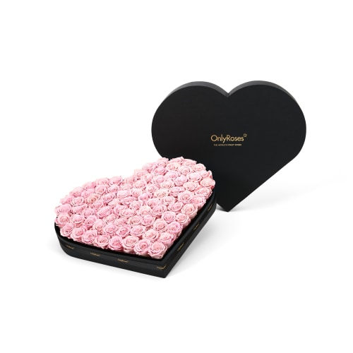Luxury Infinite Rose Heart - Riyadh Rose Delivery - OnlyRoses