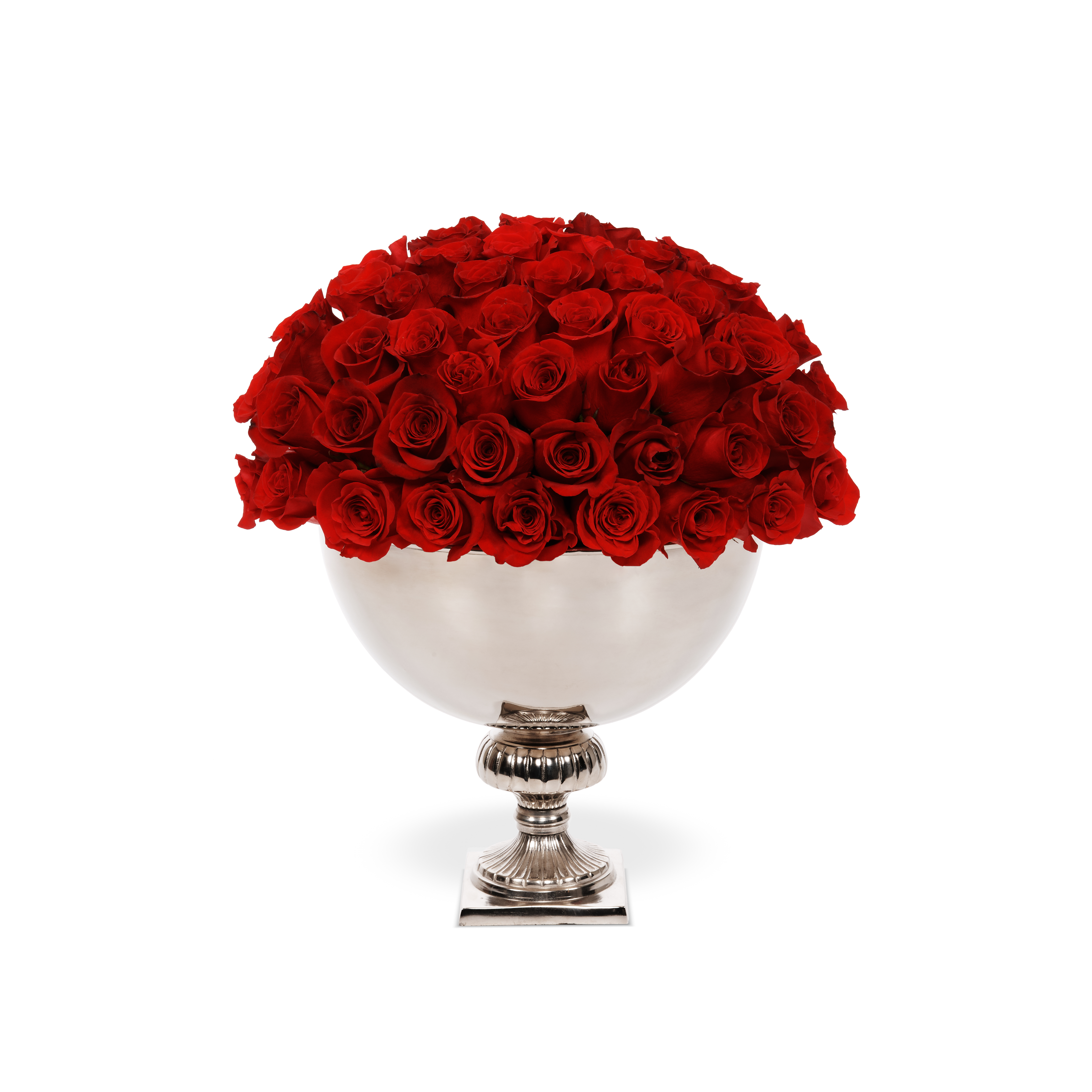 Classic Rose Punch Bowl Dubai Delivery Onlyroses