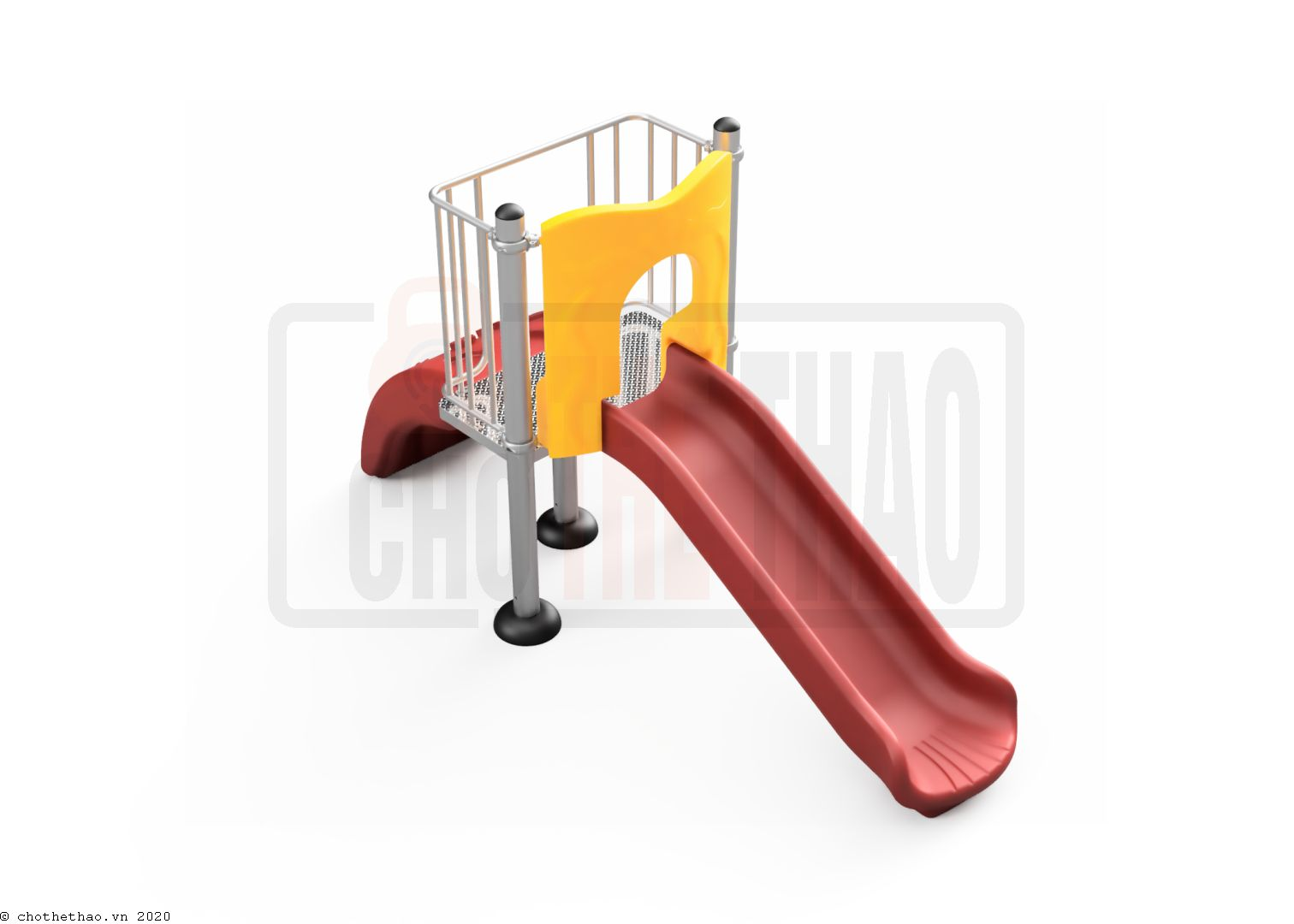Cầu tuột đơn, thang nhựa NIK5131A