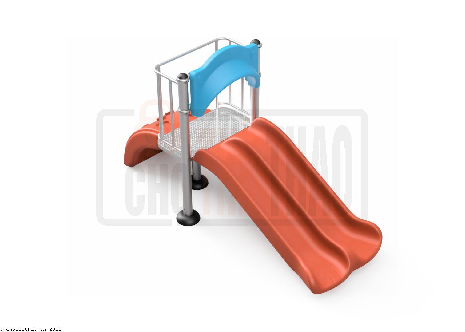 Cầu tuột đôi, thang nhựa NIK5231A