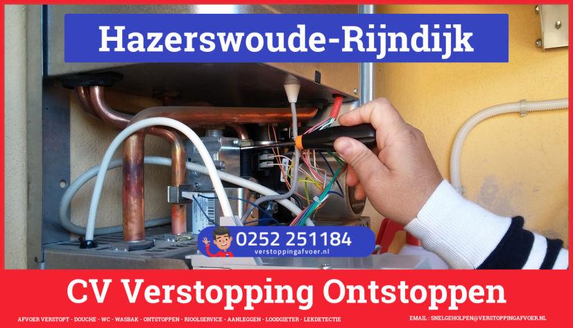 rioolservice afvoer verstopt cv ketel in Hazerswoude-Rijndijk