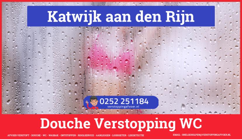 Doucheputje ontstoppen Katwijk aan den Rijn
