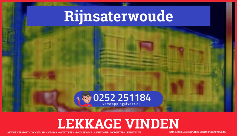 eb rioolservice lekdetectie in Rijnsaterwoude