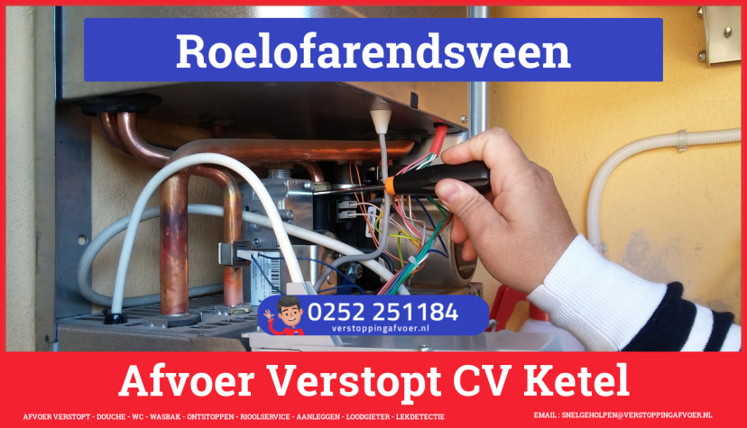 rioolservice afvoer verstopt cv in Roelofarendsveen