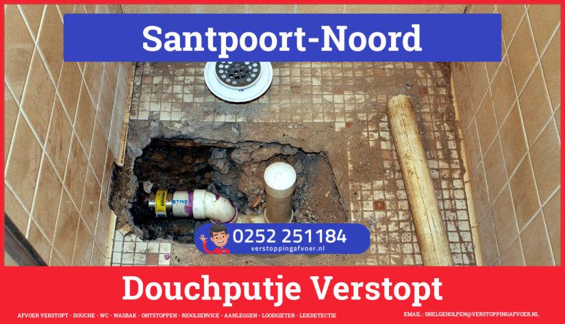 Doucheputje ontstoppen Santpoort-Noord
