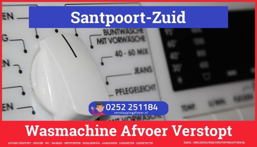 rioolservice wasmachine afvoer ontstoppen in Santpoort-Zuid