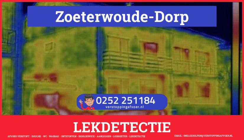 eb rioolservice lekdetectie in Zoeterwoude-Dorp