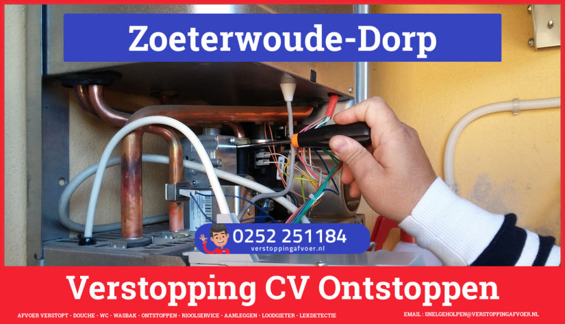 rioolservice afvoer verstopt cv in Zoeterwoude-Dorp