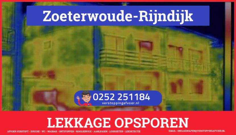eb rioolservice lekdetectie in Zoeterwoude-Rijndijk