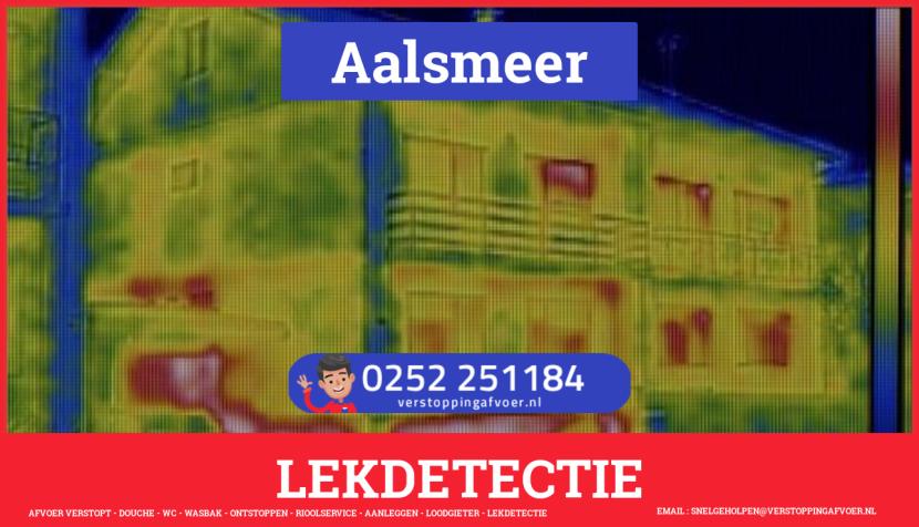 eb rioolservice lekdetectie in Aalsmeer