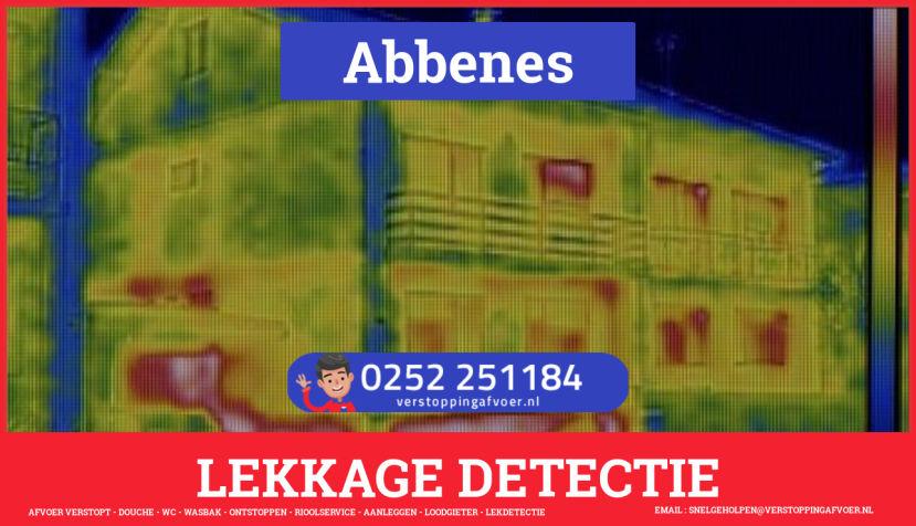 eb rioolservice lekdetectie in Abbenes