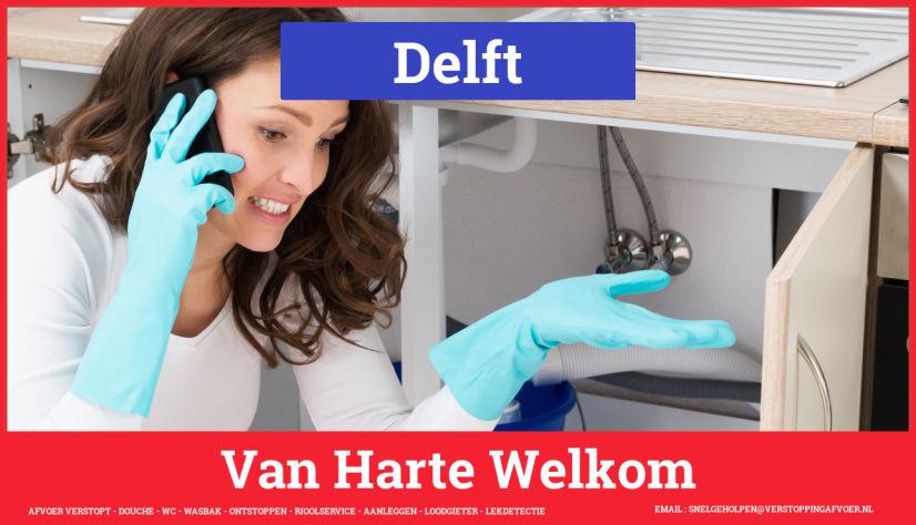 Afvoer Verstopt Delft Rioolservice