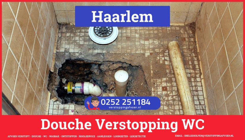 Doucheputje ontstoppen Haarlem
