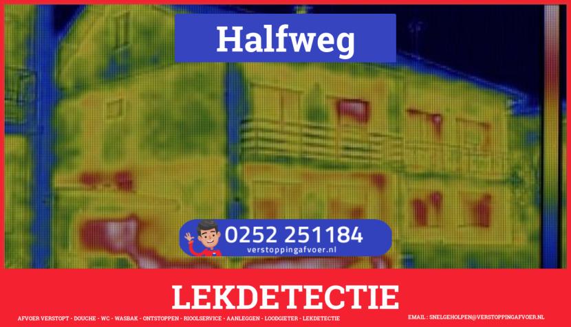 eb rioolservice lekdetectie in Halfweg