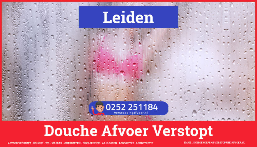 Doucheputje ontstoppen Leiden