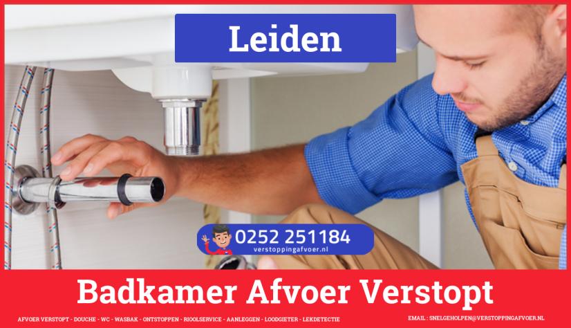 Gootsteen Afvoer Verstopt Leiden 🚨 1e 1/2 uur €59,- 0657233744