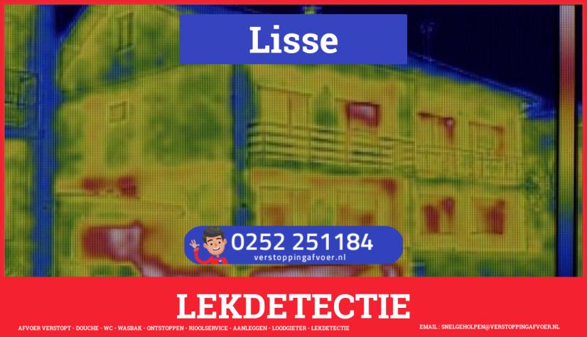 eb rioolservice lekdetectie in Lisse