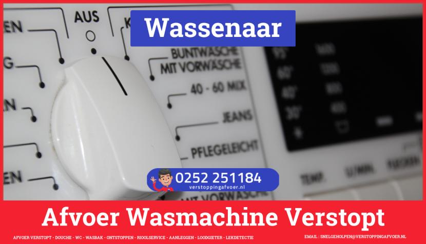 rioolservice afvoer ontstoppen wasmachine in Wassenaar