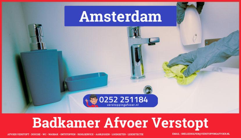 WC Gootsteen Afvoer Verstopt Amsterdam 🚨 1e 1/2 uur €59,- 0657233744