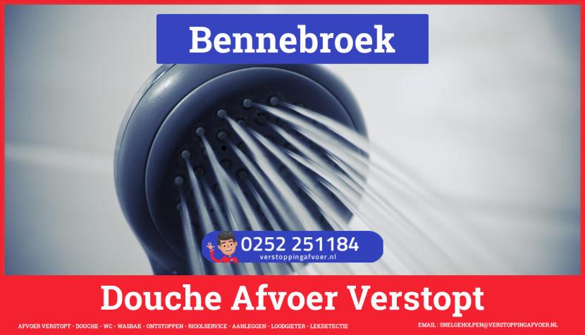 Doucheputje ontstoppen Bennebroek