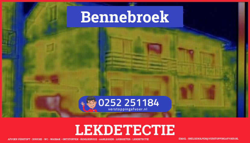 eb rioolservice lekdetectie in Bennebroek
