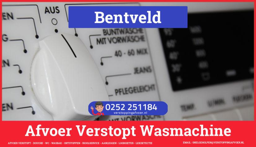 rioolservice afvoer ontstoppen wasmachine in Bentveld