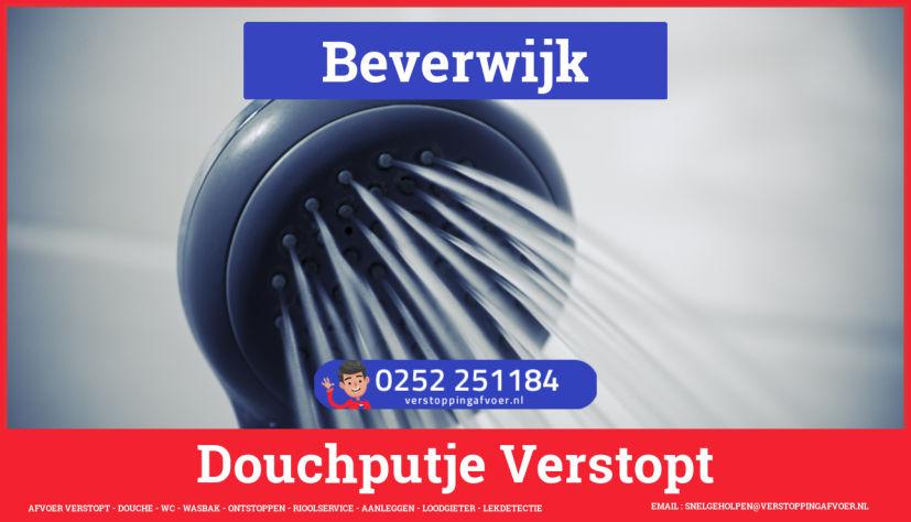 Doucheputje ontstoppen Beverwijk