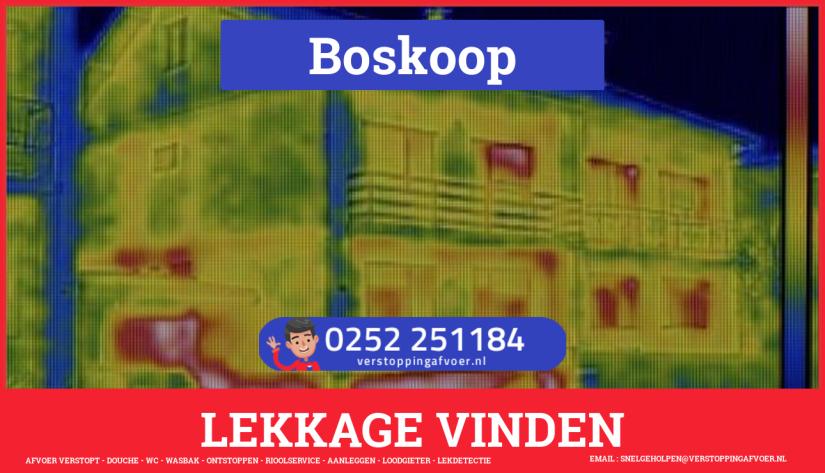 eb rioolservice lekdetectie in Boskoop