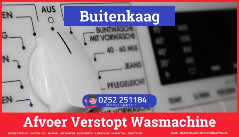 rioolservice afvoer ontstoppen wasmachine in Buitenkaag