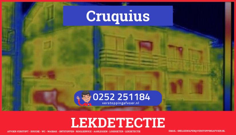 eb rioolservice lekdetectie in Cruquius